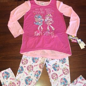 NWT Shopkins Pajamas